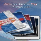 Oltre sfondi animati su Android Dynamical ripples, scarica apk gratis Serbian Flag 3D.