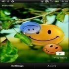 Oltre sfondi animati su Android Bubbles by Happy live wallpapers, scarica apk gratis Smiles.