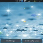 Oltre sfondi animati su Android Water ripple, scarica apk gratis Stars by Happy live wallpapers.