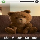 Oltre sfondi animati su Android Fresh leaves, scarica apk gratis Talking Ted.