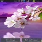Oltre sfondi animati su Android True water, scarica apk gratis Water drop: Flowers and leaves.