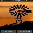 Oltre sfondi animati su Android Aquarium, scarica apk gratis Windmill by Pix live wallpapers.